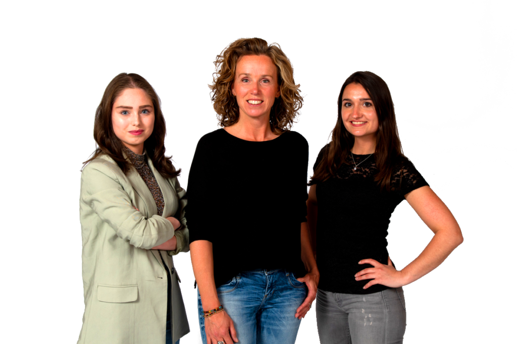 Sandra Somers, Simone Pijnenburg, Linda Hermens